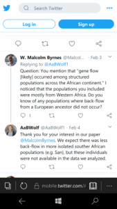 ABWolf » Aaron Wolf contrary to boss Princeton Prof. Joshua Akey concedes not all Sub-S Afros have Neanderthal DNA » Human Evolution News » 1