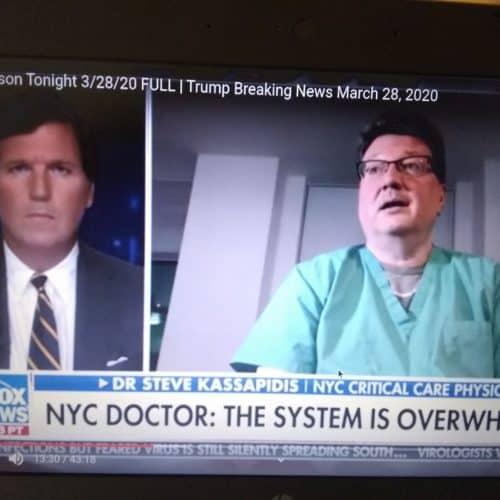 TuckerCarlson » NYC Doctor tells Tucker Carlson, Blood Types do matter for Coronavirus » Human Evolution News » 7