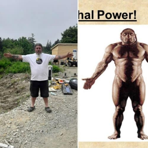 NeanderthalManCanada » Neanderthal Man of North America: Incredible discovery on Canadian coast » Human Evolution News » 5