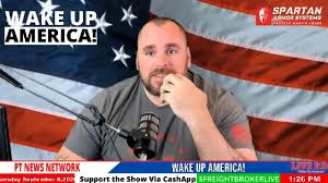 """PTNewsNetwork - MAGA Live Stream interviews Black Man at Trump Rally, sign -""""White Genocide is Real"""" - Human Evolution News - 7"""