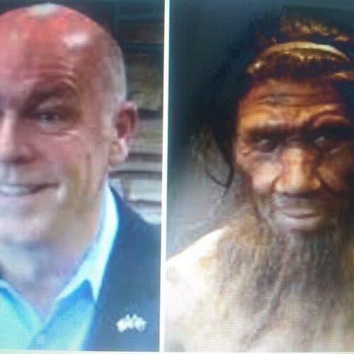 """MontanaGov2 concentrate » Montana Gov. embraces """"Neanderthal"""" label after Biden slams GOP Gov's on COVID » Human Evolution News » 3"""