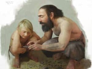 NeanderthalsTomBorklund - New evidence from Spain, Neanderthals could communicate with early Europeans - Human Evolution News - 3
